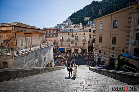 Wedding Photographer: Amalfi Cathedral, Amalfi